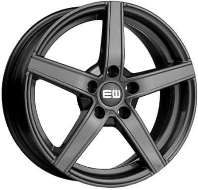 432517 ETW JAP 7017410818 Elite Jazzy fælg, 7x17 ET18, 108.00/4, Ø65.1, Palladium (uden bolte/møtrikker) Elite Wheels